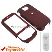 HTC Shadow 2 Rubberized Hard Case - Red