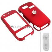 AT&T Tilt 8925 Rubberized Hard Case - Red