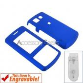 LG CF360 Rubberized Hard Case - Blue