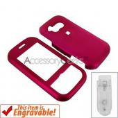 LG Neon Rubberized Hard Case - Rose Pink