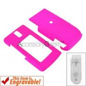 Nokia 6650 Rubberized Hard Case - Hot Pink