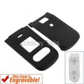 Nokia 3606 Rubberized Hard Case - Black