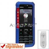 Nokia XpressMusic Rubberized Hard Case - Blue