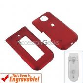 Nokia Intrique 7205 Rubberized Hard Case - Red
