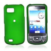Samsung Galaxy I7500 Rubberized Hard Case - Green
