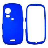 Samsung Instinct HD M850 Rubberized Hard Case - Blue