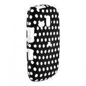 Samsung Freeform R350/R351 Rubberized Hard Case - Polka Dots