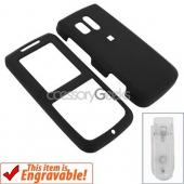 Samsung Messager Rubberized Hard Case - Black