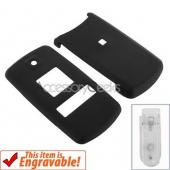 Samsung JetSet Rubberized Hard Case - Black