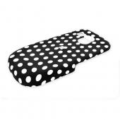 Samsung R860 Rubberized Hard Case - Polka Dots