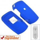Samsung T109 Rubberized Hard Case - Blue