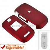 Samsung U430 Rubberized Hard Case - Red