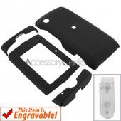 T-Mobile SideKick 4 2008 Rubberized Hard Case - Black