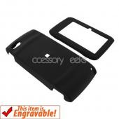 T-Mobile Sidekick LX 2009 Rubberized Hard Case - Black