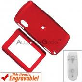 Sidekick LX Rubberized Hard Case - Red