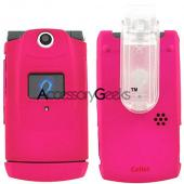 Sanyo Katana 6600 Hot Pink Rubberized Hard Case