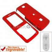 ZTE C78 Rubberized Hard Case - Red