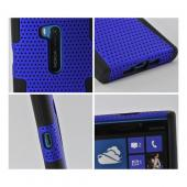 Blue Mesh on Black Silicone for Nokia Lumia 920
