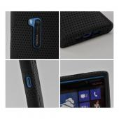 Black Mesh on Silicone for Nokia Lumia 920