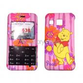 MOBO Disney Licensed LG Invision Hard Case - Winnie the Pooh on Pink Floral
