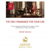 Premium Car Air Freshener, [Secret Garden] Bullsone Grasse Valentine - Natural Essential French Oil Scents!