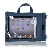 Original TurtleBack G-Mate Apple iPad (All Gen.) Genuine Leather Carry Case w/ Shoulder Strap - Navy Blue