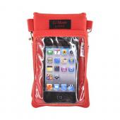 G-Mate iPhone/iPod Genuine Leather Carry Case w/ Strap - Red