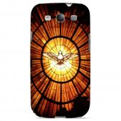 Geeks Designer Line (GDL) Bibles Series Samsung Galaxy S3 Matte Hard Back Cover - Holy Spirit Glass