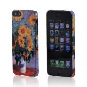 Geeks Designer Line (GDL) Apple iPhone 5/5S Claude Monet Slim Hard Back Cover - Bouquet of Sunflowers