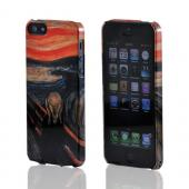 Geeks Designer Line (GDL) Apple iPhone 5/5S Edward Munch Slim Hard Back Cover - The Scream