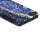 Geeks Designer Line (GDL) Apple iPhone 5 Van Gogh Slim Hard Back Cover - Starry Night