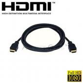 HDMI Cable Full HD 1080p and 3D 24K Gold Plated M2M v1.3 - 6 Feet