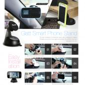 Glatt White Universal Magnetic Suction Car Mount/ Holder for Phones/ MP3 Players