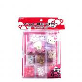 Samsung Galaxy S3 Hello Kitty DIY Bundle w/ Officially Licensed Hello Kitty Decoration Art Kit & Clear Hard Case