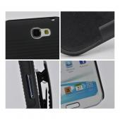 Black Rubberized Hard Case w/ Holster, Kickstand & Swivel Belt Clip for Samsung Galaxy Note 2