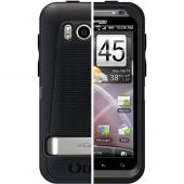Original Otterbox Defender Series HTC Thunderbolt Case & Holster w/ Belt Clip, HTC2-TBOLT-20-E4OTR - Black