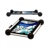 Original iBallz Universal Stabalizing Shock Absorbing Harness Tablet Holder Stand, IBOG-BK - Black