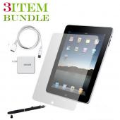 Apple iPad (1st Gen) Combo Package w/ Charger, iClooly Stylus and USB Wall Charger