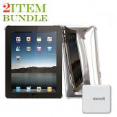 Apple iPad (1st Gen) Combo Package w/ Macally Case and Charger