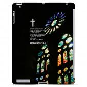 Geeks Designer Line (GDL) Bibles Series Apple iPad 2/3 Slim Hard Back Cover - Ephesians 2:8-9