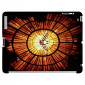 Geeks Designer Line (GDL) Bibles Series Apple iPad 2/3 Slim Hard Back Cover - Holy Spirit Glass