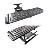 Original Freedom Pro Portable Wireless Bluetooth Keyboard w/ Case, KB-FREEDOMPRO - Black (APPLE COMPATIBLE ONLY)