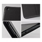 Black Fabric Case for Apple iPad Mini w/ Foldable Stand & Hard Back
