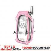 Sanyo 8400 Clear Case - Pink