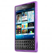 Blackberry Passport Tpu Case [purple] Protective Bumper Case W/ Flexible Crystal Silicone Tpu Impact Resistant Material