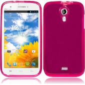 Hot Pink/ Frost Crystal Silicone TPU Skin for Blu Studio 5.0