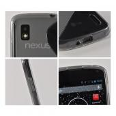 Smoke S Design Crystal Silicone Case for LG Google Nexus 4