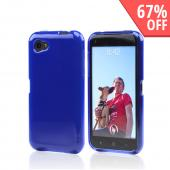 Frosted Blue Crystal Silicone Case for HTC First