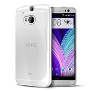 Clear Crystal Silicone TPU Flexible Skin Case for HTC One 2