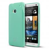 Mint Crystal Silicone Skin Case for HTC One